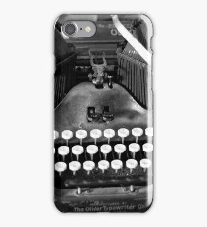 Typewritter iPhone Case/Skin