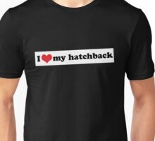 I ♥ my hatchback Unisex T-Shirt