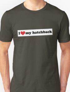 I ♥ my hatchback T-Shirt