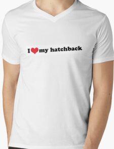 I ♥ my hatchback Mens V-Neck T-Shirt