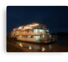 Night Light on the River Canvas Print