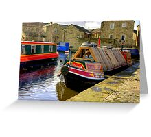 "The Barge ""Pearl Barley"" Greeting Card"