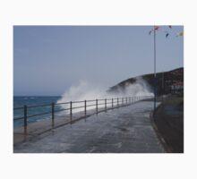 Spray Splashing over Promenade Kids Clothes