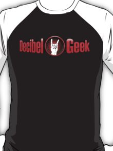 Decibel Geek 3D Logo T-Shirt