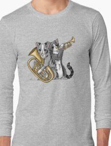 Brass Cats Long Sleeve T-Shirt