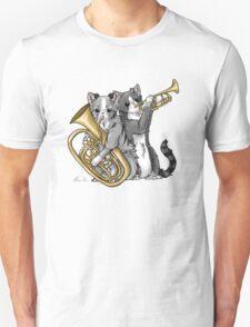 Brass Cats Unisex T-Shirt