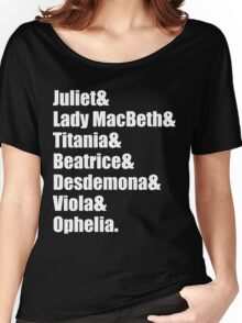 Shakespeare's Ladies Women's Relaxed Fit T-Shirt