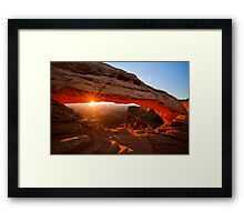 Day is born Framed Print