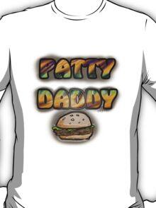 Hamburger 'Patty Daddy'  T-Shirt