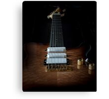 Solid Electric lead guitar Canvas Print