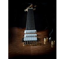 Solid Electric lead guitar Photographic Print