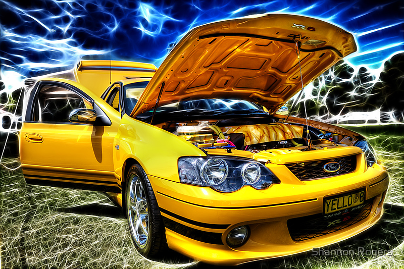 Ford XR8 Ute by Shannon Rogers