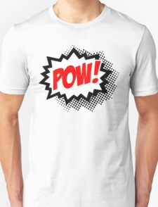 POW! Comic Bubble Unisex T-Shirt