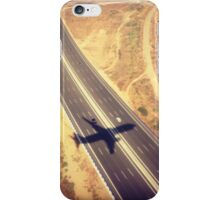 Plane Crossing iPhone Case/Skin