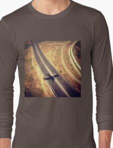 Plane Crossing Long Sleeve T-Shirt