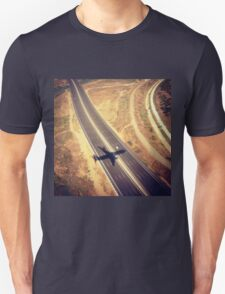 Plane Crossing Unisex T-Shirt