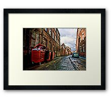 Back Street, Kelham Island, Sheffield Framed Print