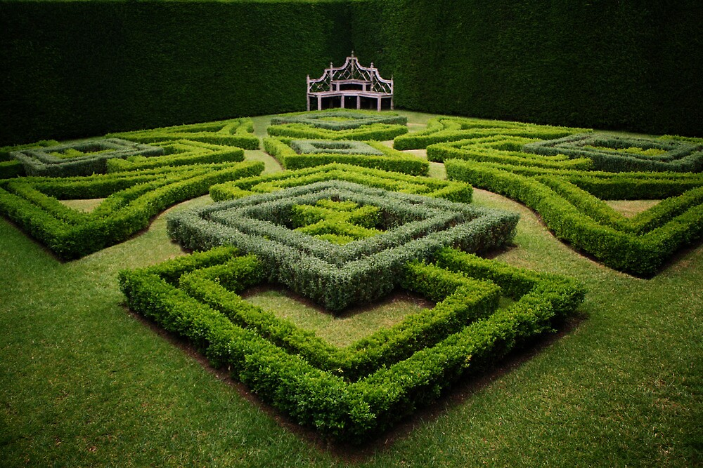 Topiary Garden by Looking-Glass