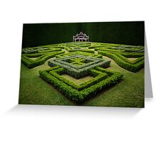 Topiary Garden Greeting Card