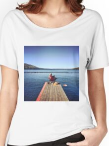 Serene Moments in Tahoe Women's Relaxed Fit T-Shirt