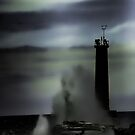 Ghostly Nightmare Of Lake Michigan by KatsEye