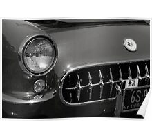'57 Chevy Corvette Poster