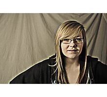Rosie Studio Portrait Photographic Print
