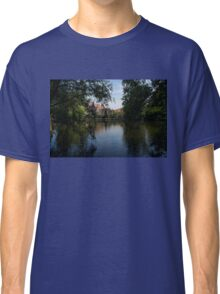 A Glimpse Through the Trees - Bruges, Belgium Classic T-Shirt