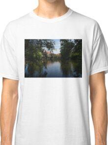 A Glimpse Through the Trees - Bruges, Belgium Classic T-Shirt