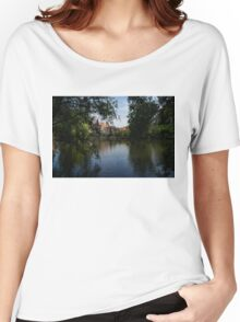 A Glimpse Through the Trees - Bruges, Belgium Women's Relaxed Fit T-Shirt