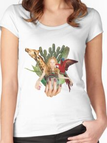 Safari Women's Fitted Scoop T-Shirt