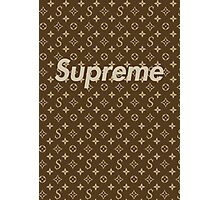 Supreme LV Media Cases, Pillows, and More. Photographic Print