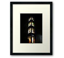 Nighttime Grind Framed Print