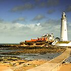 Whitley Bay Lighthouse by Michael Smith