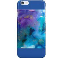 Watercolour blue iPhone Case/Skin
