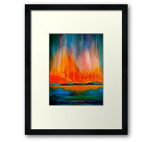 Landscape Abstract...Canon Framed Print