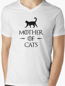 Mother of Cats Mens V-Neck T-Shirt
