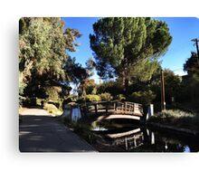 UC Davis Arboretum Canvas Print
