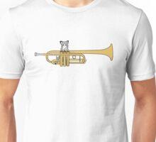 Trumpet Cat Unisex T-Shirt