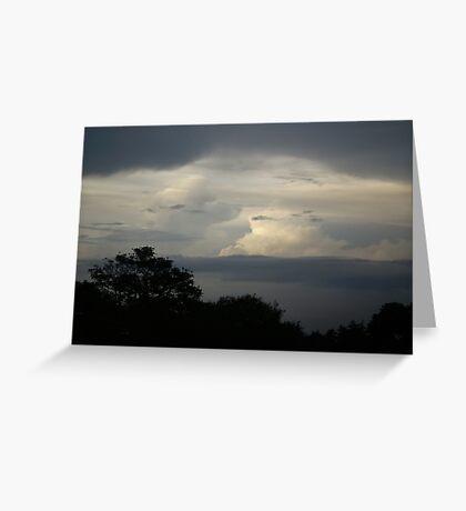 Nubes Greeting Card