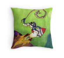 Earthworm Jim Throw Pillow