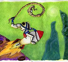 Earthworm Jim by Kaylah Harris