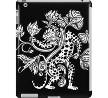 Mayan Jaguar with Lotus iPad Case/Skin