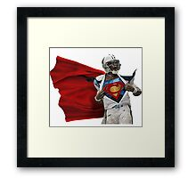 Cam Newton Carolina Panthers Framed Print
