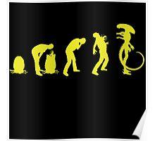 Xenomorph Life Cycle Poster