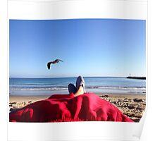 Beach Bummin Poster