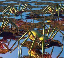 Arachno-roboto-phobia by Lyle Hatch