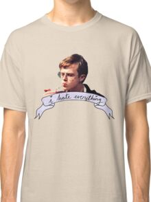 Dane DeHaan - I hate everything Classic T-Shirt