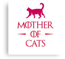 Mother of Cats - Gradient Canvas Print