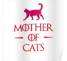 Mother of Cats - Gradient Poster